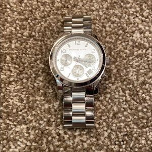 Michael Kors Oversized Stainless Steel Watch